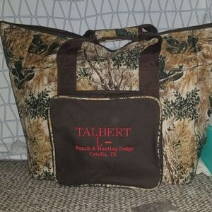 Large insulated food storage bag